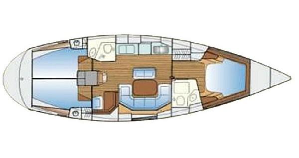 Alquiler Velero en Lefkas Marina - Bavaria Bavaria 42