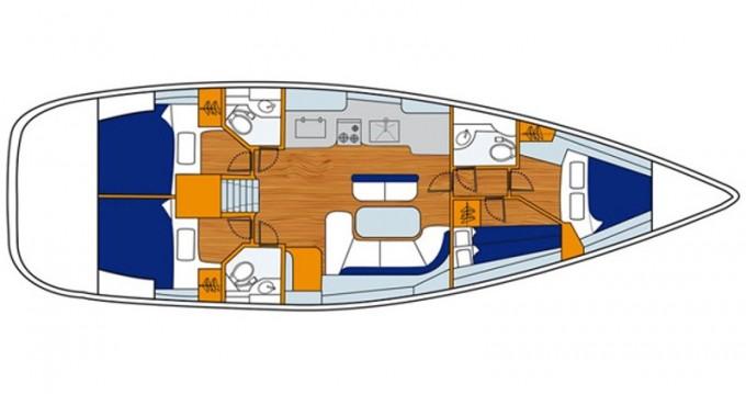 Alquiler de barcos Genoa barato de Oceanis 473