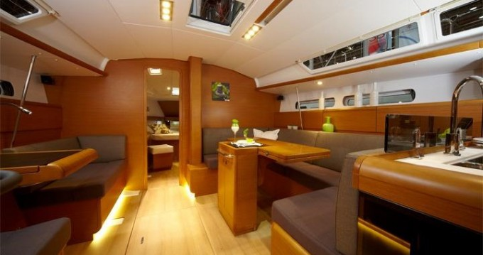 Jeanneau Sun Odyssey 449 entre particulares y profesional Trapani