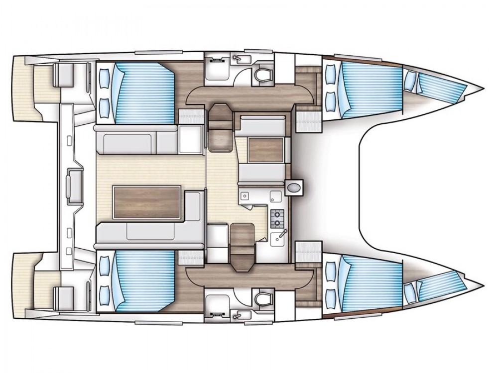 Alquiler de yate Trogir - Nautitech Nautitech Open 40 en SamBoat
