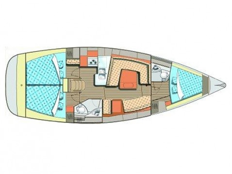 Alquiler de barcos Elan Impression 384 enTrogir en Samboat