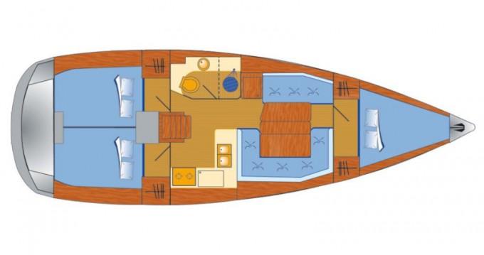 Alquiler de barcos Jeanneau Sun Odyssey 389 enVeruda en Samboat