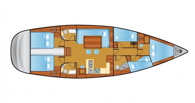 Alquiler de barcos Veruda barato de Cruiser 51