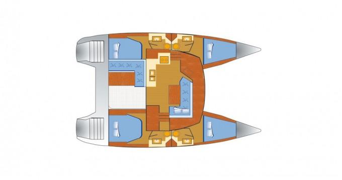 Alquiler de barcos Fountaine Pajot Lucia 40 enVeruda en Samboat