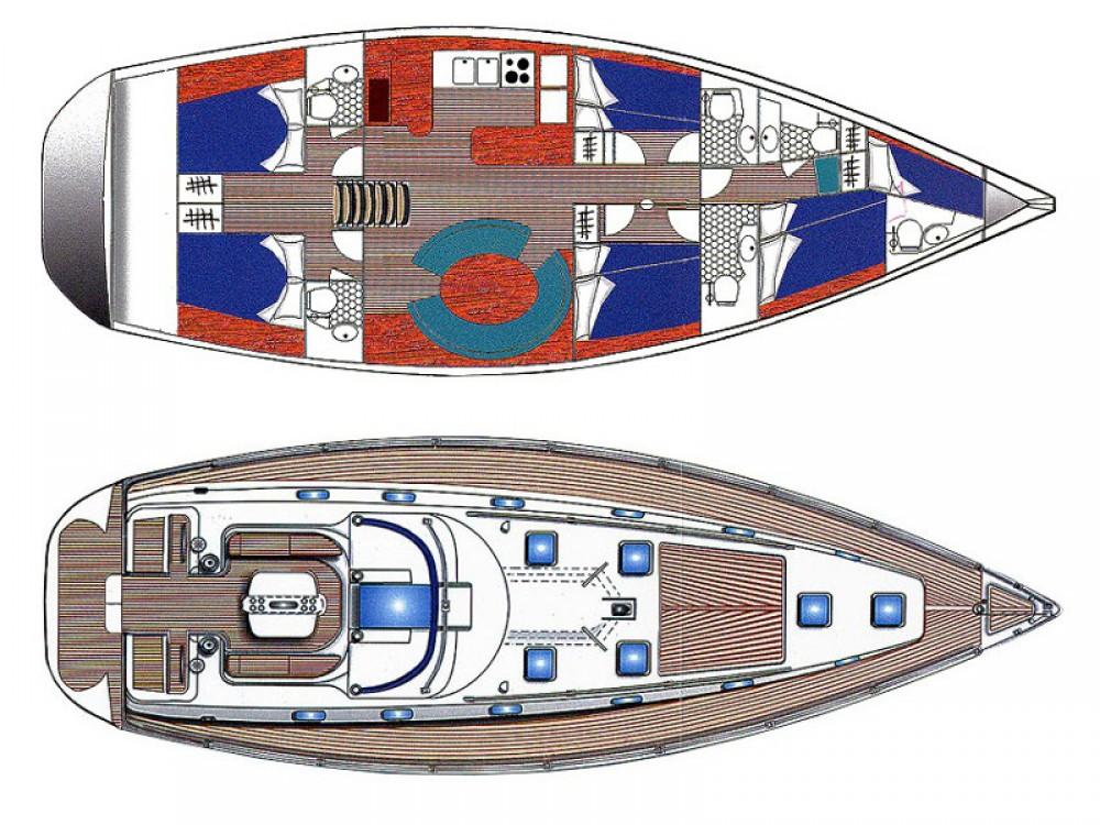 Alquiler de Ocean Ocean Star 56.1- 6 cabins en Marina de Alimos