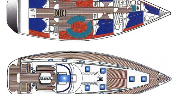 Alquiler de Ocean Ocean Star 56.1- 6 cabins en Álimos