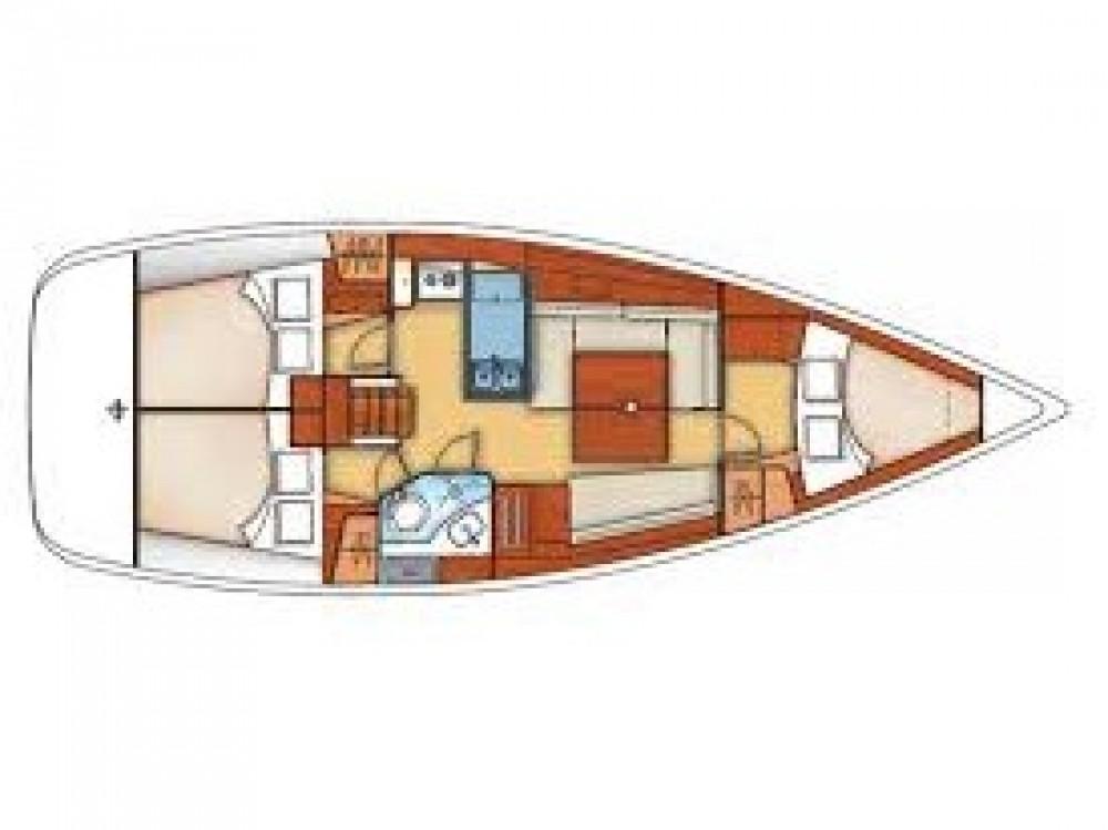 Alquiler de barcos Bénéteau Oceanis 373 Clipper enÁlimos en Samboat