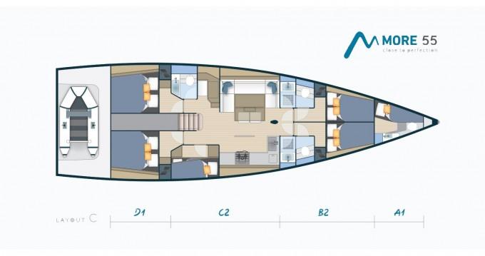 Alquiler Velero More Boats con título de navegación