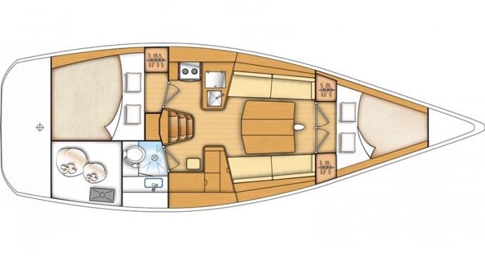 Alquiler de yate Kaštel Gomilica - Bénéteau First 35 en SamBoat