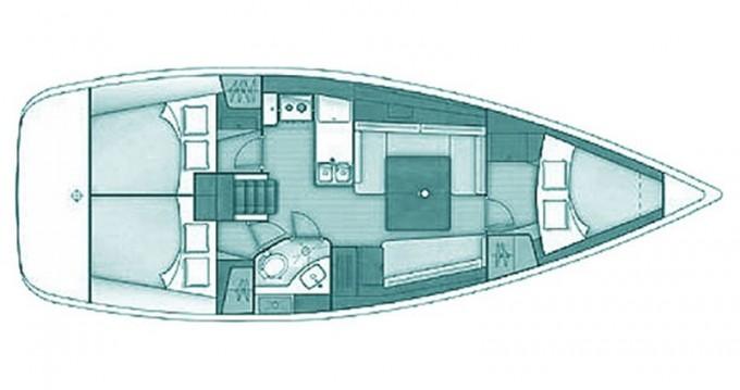 Alquiler de barcos Skópelos barato de Oceanis 37
