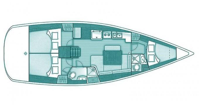 Alquiler de barcos Skópelos barato de Oceanis 40