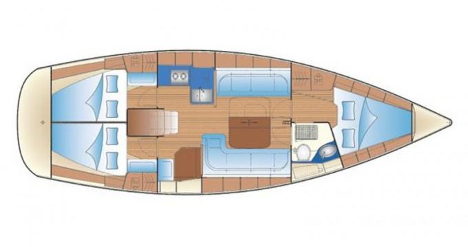 Alquiler de yate Gouviá - Bavaria Bavaria 38 Cruiser en SamBoat