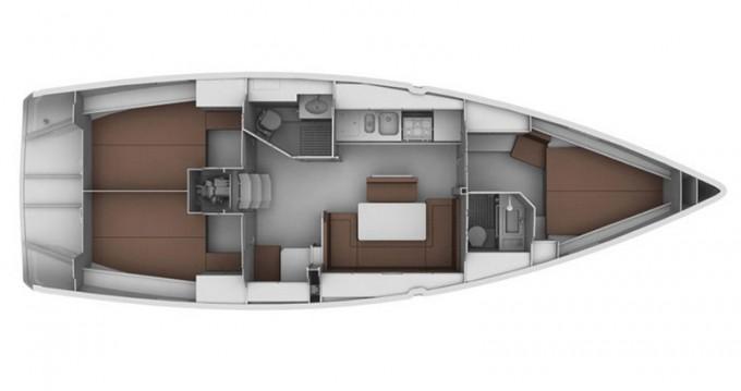 Alquiler de yate Gouviá - Bavaria Bavaria 40 Cruiser en SamBoat