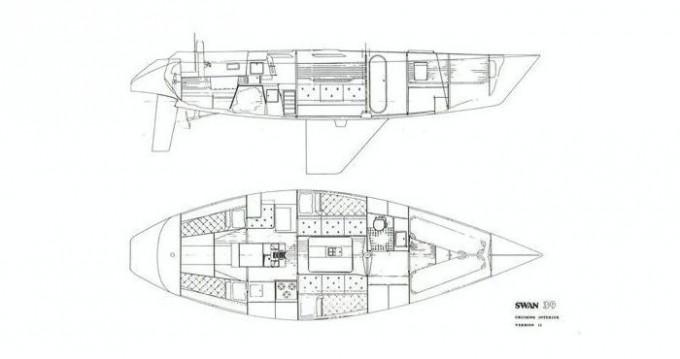 Swan 39 entre particulares y profesional Punta Ala