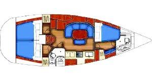 Alquiler de yate Mindelo - Bénéteau Oceanis 393 en SamBoat