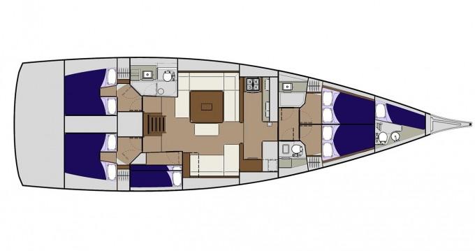 Alquiler de yate Veruda - Dufour Dufour 560 en SamBoat