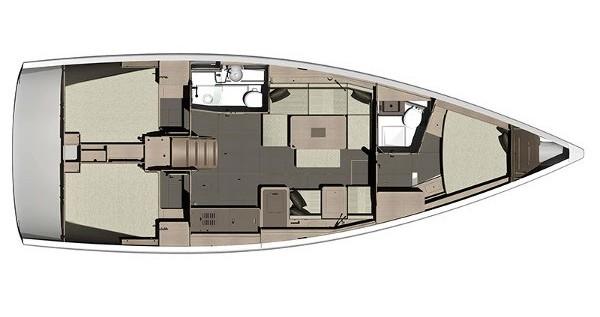 Alquiler de barcos Dufour Dufour 410 (3c-2h) enKaštel Gomilica en Samboat