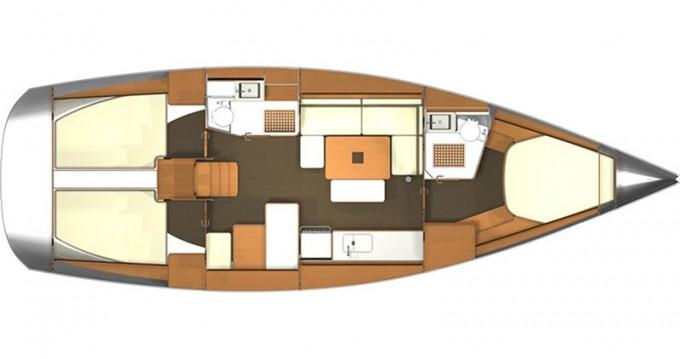 Alquiler de barcos Dufour Dufour 405 RM enKaštel Gomilica en Samboat