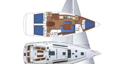 Alquiler Velero en Marina di Portorosa - Bénéteau Oceanis 40