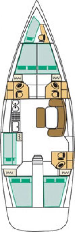Alquiler de yate Furnari - Bénéteau Cyclades 50.5 en SamBoat