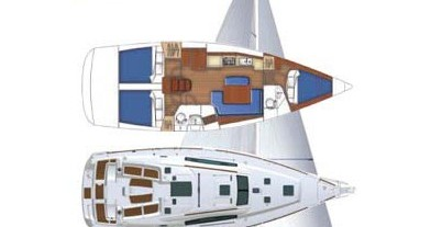 Alquiler Velero en Marina di Portorosa - Bénéteau Oceanis 43