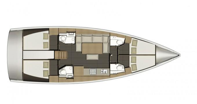 Alquiler de Dufour Dufour 460GL en Lefkas Marina