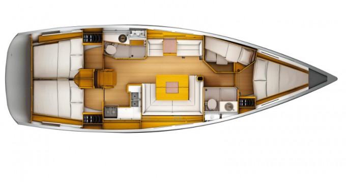 Alquiler de barcos Jeanneau Jeanneau S.O.449 enCapo d'Orlando en Samboat