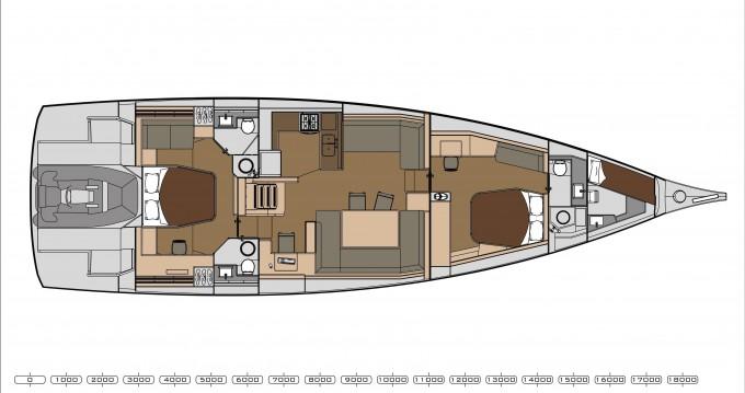 Alquiler de barcos Parikia barato de Dufour 63 Exclusive