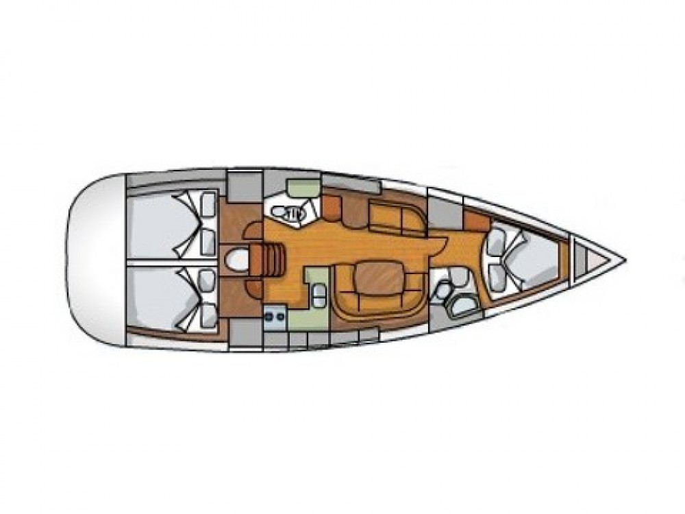 Alquiler de barcos Sukošan barato de Sun Odyssey 42 i