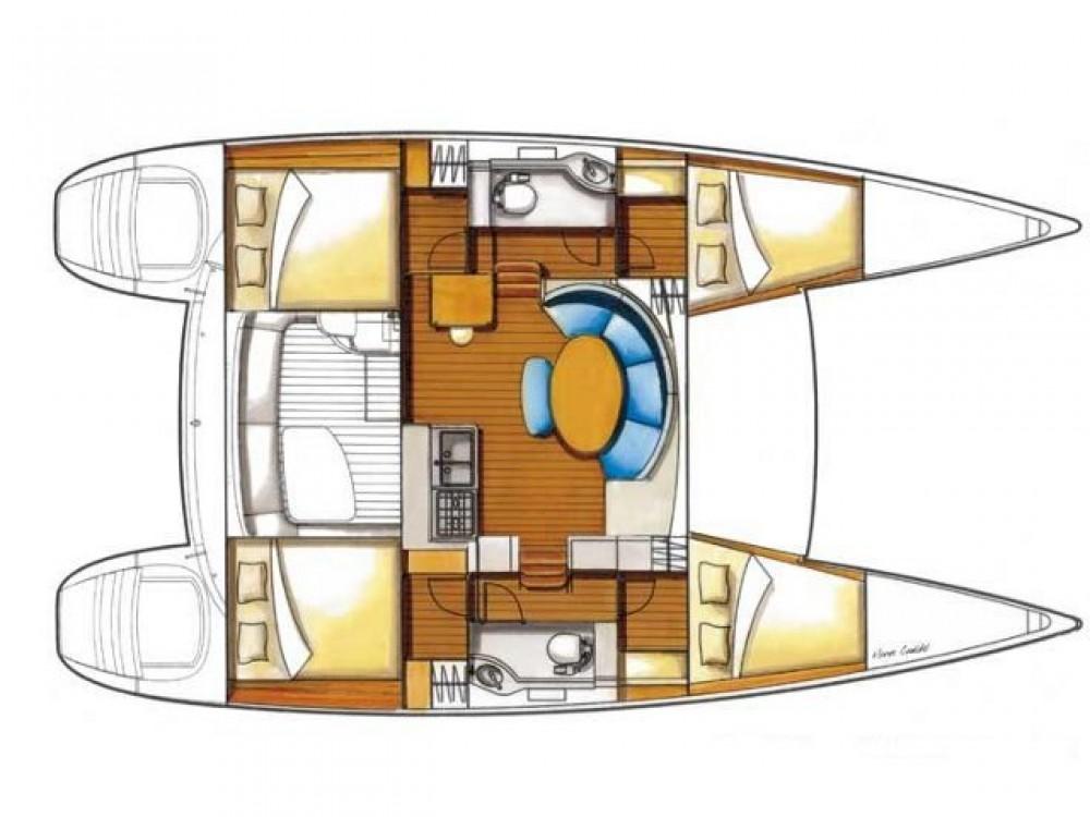 Alquiler de yate  - Lagoon Lagoon 380 S2 en SamBoat