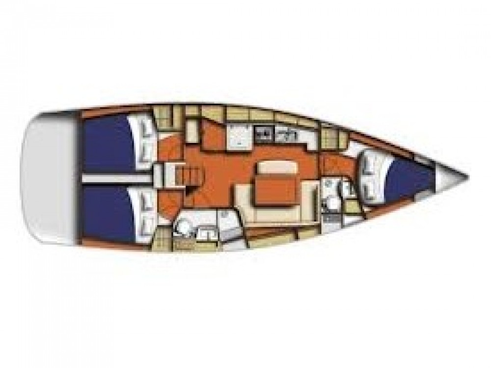 Alquiler de barcos Marina de Alimos barato de Oceanis 40