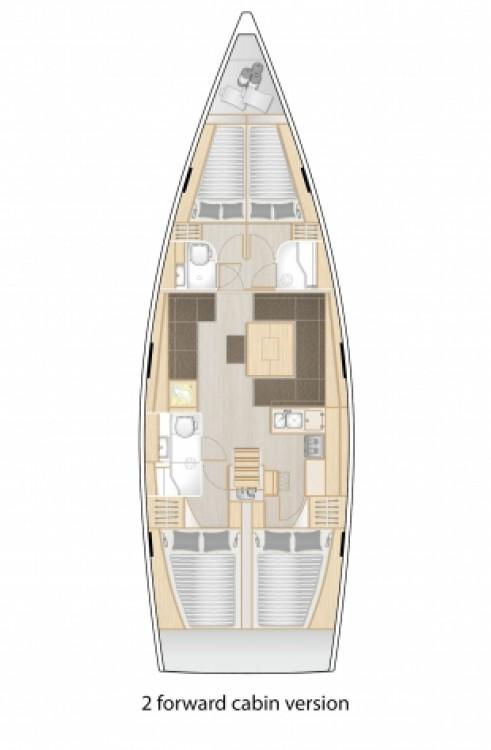 Alquiler de yate  - Hanse Hanse 458 en SamBoat