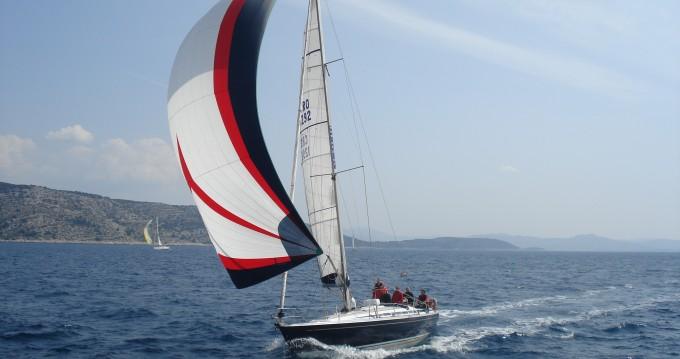 Alquiler Velero Grand Soleil con título de navegación