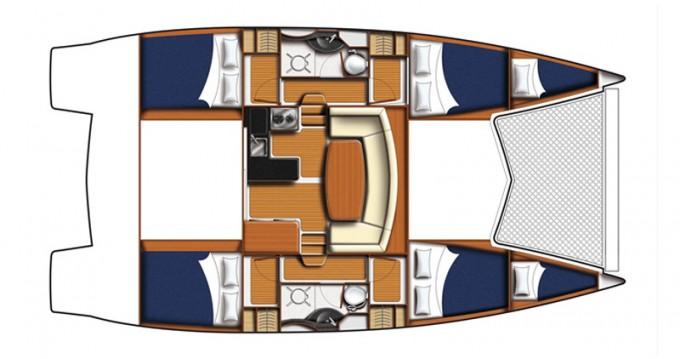Alquiler de Catamarán, con o sin patrón Leopard Šibenik