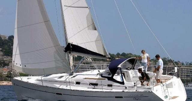 Alquiler de barcos Skiathos barato de Oceanis 343