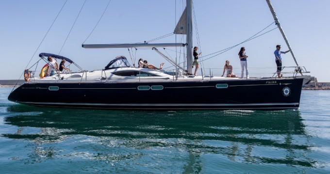 Alquiler de barcos Barcelona barato de Jeanneau Sun Odyssey 54DS
