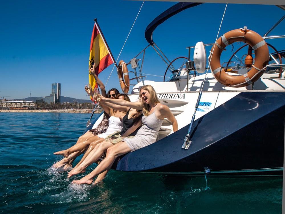 Alquiler de barcos Port Olímpic barato de Jeanneau Sun Odyssey 54DS