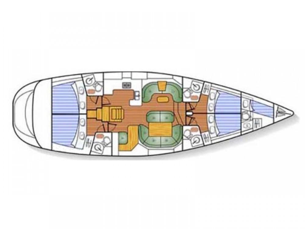 Alquiler Velero en Port Olímpic - Jeanneau Jeanneau Sun Odyssey 54DS