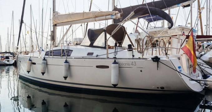 Alquiler de barcos Barcelona barato de Oceanis 43