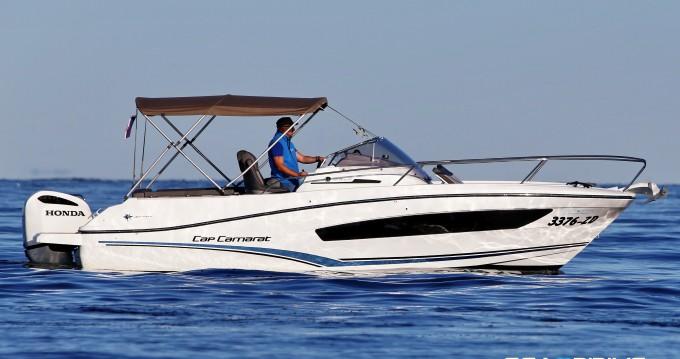 Alquiler de barcos Jeanneau Cap Camarat 7.5 enZadar en Samboat
