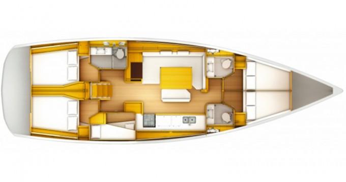 Alquiler de barcos Salerno barato de Sun Odyssey 519