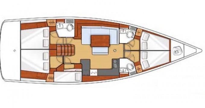 Alquiler de yate Salerno - Bénéteau Oceanis 48 en SamBoat