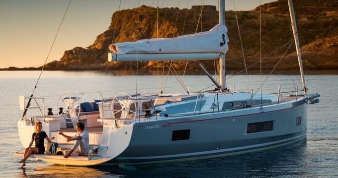 Alquiler de barcos Marina di Portorosa barato de Oceanis 46.1