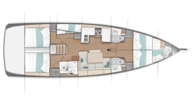 Alquiler de barcos Olbia barato de Sun Odyssey 490