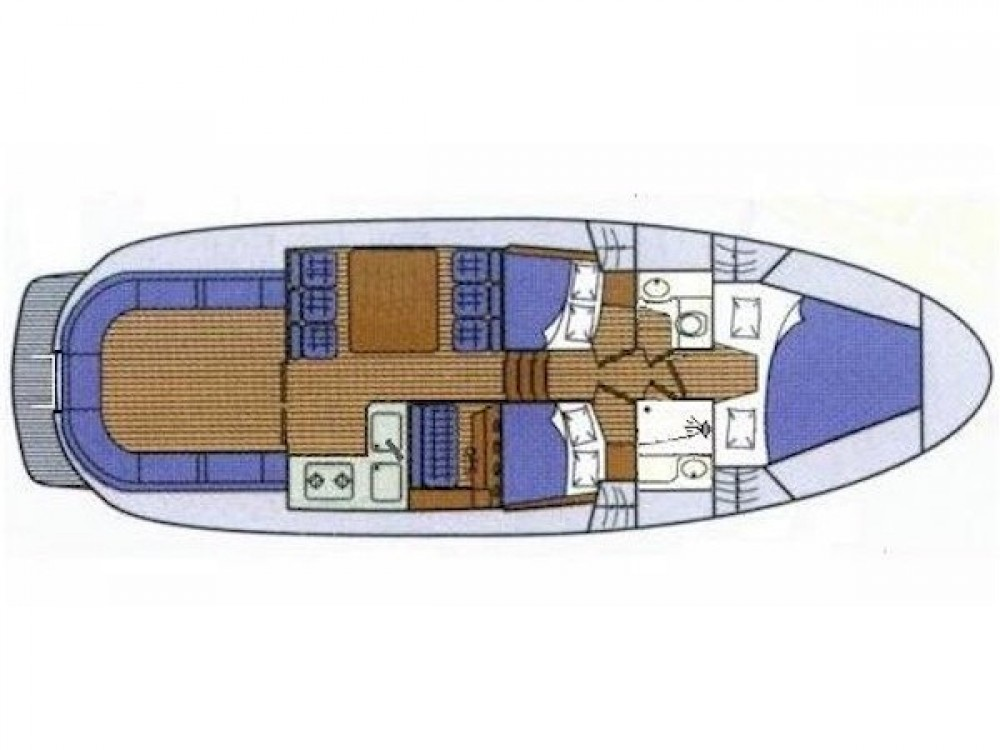 Alquiler Lancha Sas Vektor con título de navegación