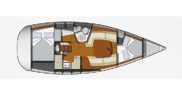 Alquiler de barcos Jeanneau Sun Odyssey 32 enKortgene en Samboat