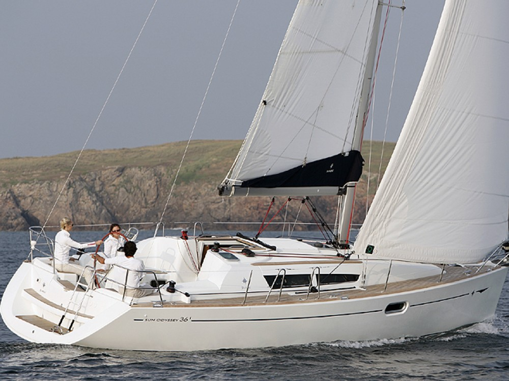 Alquiler Velero en Noord-Beveland - Jeanneau Sun Odyssey 36i