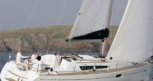 Alquiler de Jeanneau Sun Odyssey 36i en Kortgene