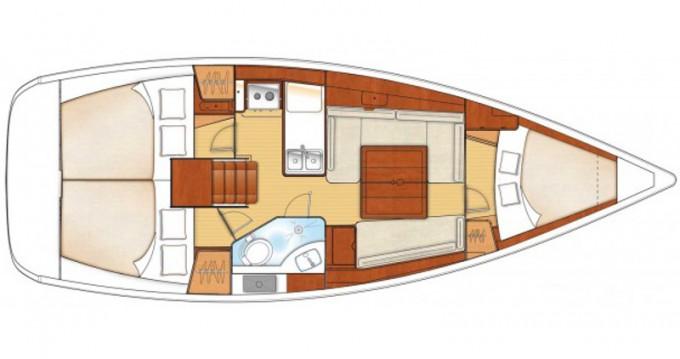 Alquiler de yate Lefkada (Isla) - Bénéteau Oceanis 34 en SamBoat