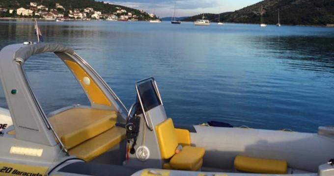 Alquiler de barcos Trogir barato de Baracuda 20